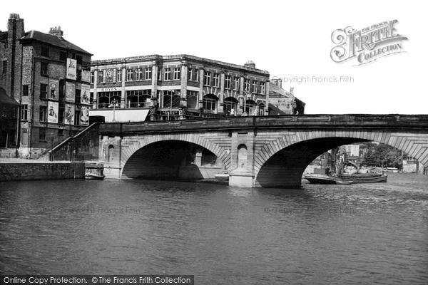 Photo of York, Ouse Bridge c.1939