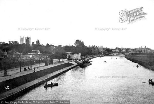 Photo of York, River And Lendal Bridge c.1885