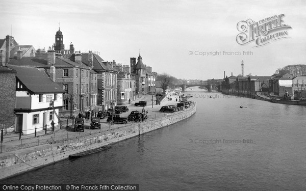 Photo of York, River Ouse And Kings Staith 1959