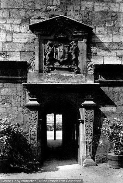 Photo of York, School For The Blind, Door 1911
