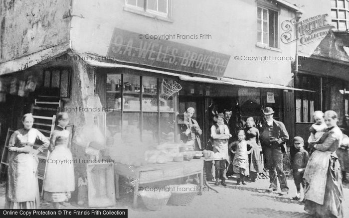 Photo of York, Shop, Jubbergate c.1890