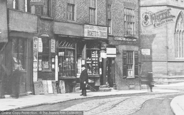 Photo of York, Shop, Nessgate c.1890
