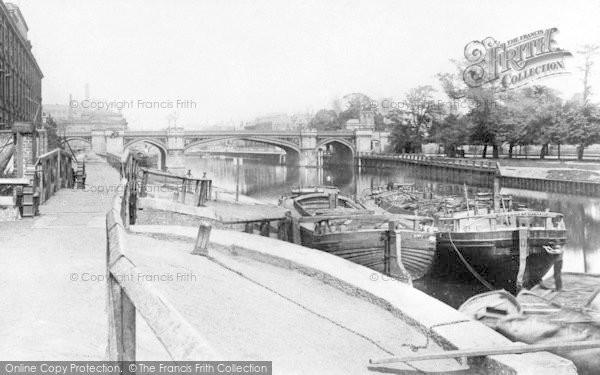 Photo of York, Skeldergate Bridge From Clementhhorpe c.1890
