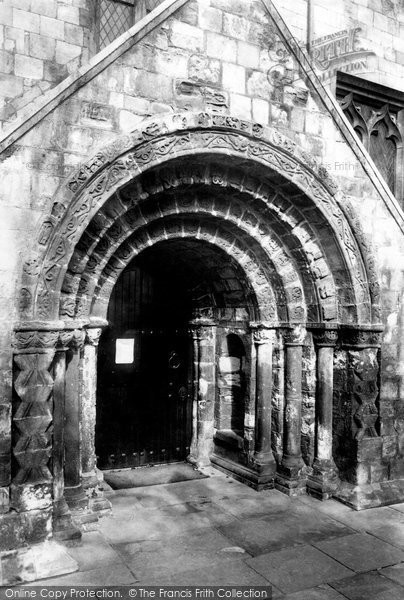 Photo of York, St Margaret's Church Porch 1892
