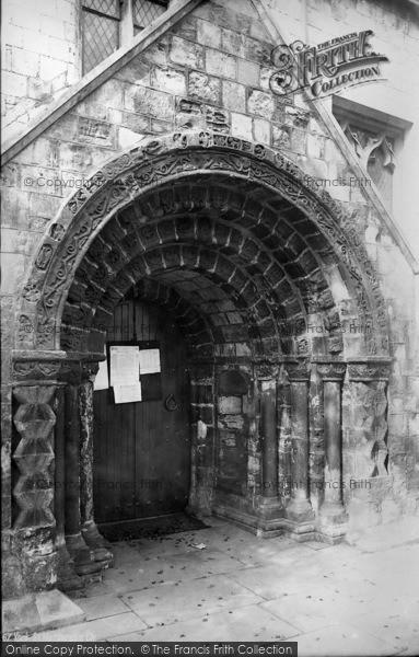 Photo of York, St Margaret's Church Porch c.1885