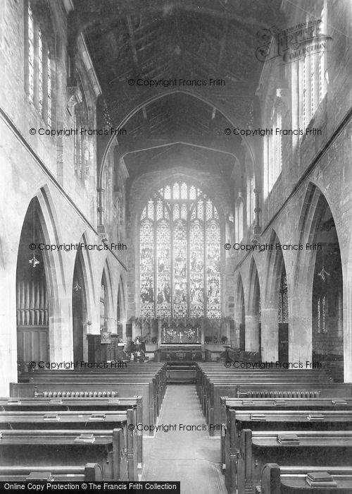 Photo of York, St Martin Le Grand Church Interior 1909