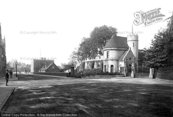 Photo of York, St Mary's Abbey Lodge c.1885