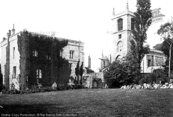 Photo of York, St Olave's Church And Marygate c.1885