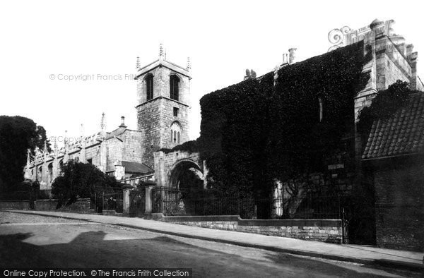 York, St Olave's Church, Marygate c.1885