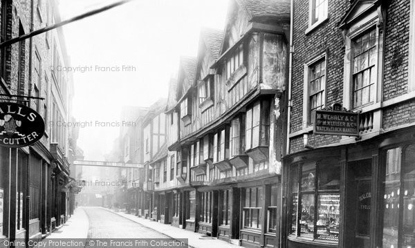 Photo of York, Stonegate 1892