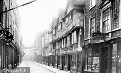York, Stonegate 1892