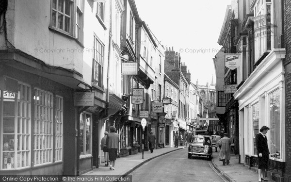 Photo of York, Stonegate 1960