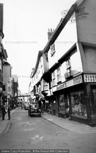 Photo of York, Stonegate c.1955