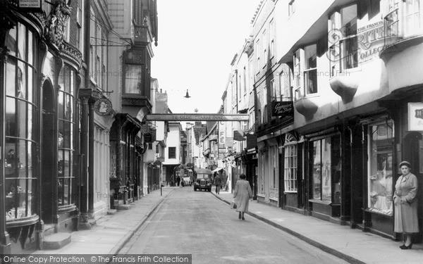 Photo of York, Stonegate c.1960