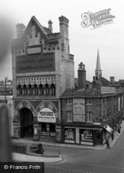 Tanner's Moat, Botterills Horse & Carriage Repository c.1955, York