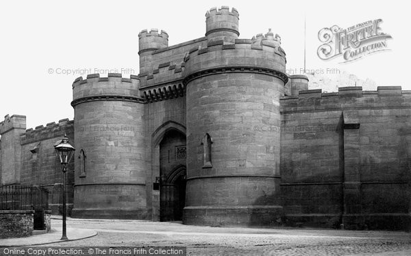 Photo of York, The Castle Gate c.1885