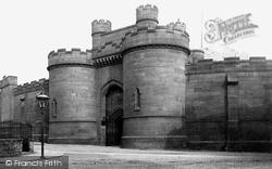 York, The Castle Gate c.1885
