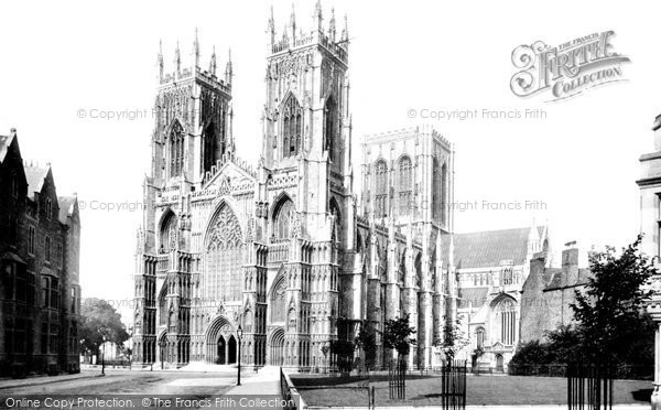 Photo of York, The Minster 1891