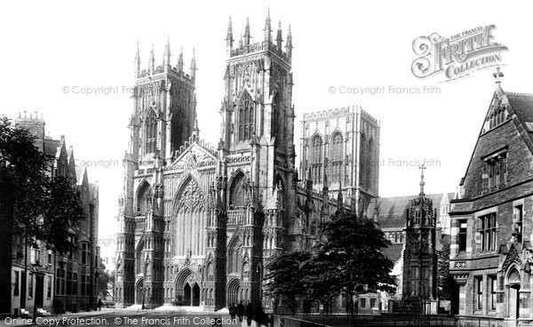 Photo of York, The Minster 1908