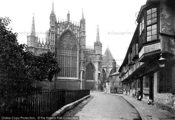 Photo of York, The Minster, The East End And St William's College 1913