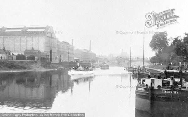 Photo of York, The Ouse At Clementhorpe c.1885