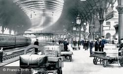 The Railway Station 1909, York