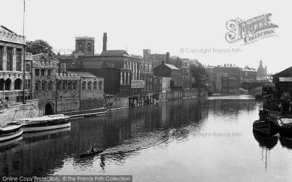 Photo of York, The River c.1950