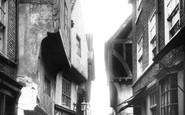 York, the Shambles 1909
