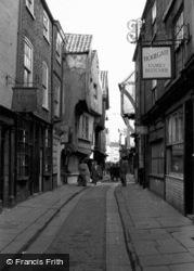 The Shambles 1951, York