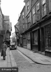 The Shambles 1953, York