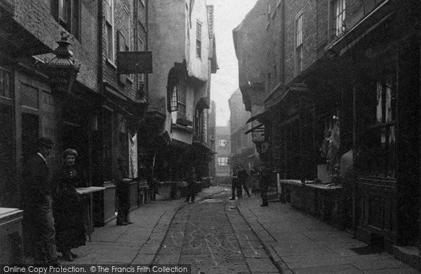 Photo of York, The Shambles c.1880
