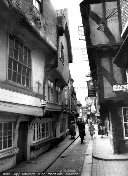 Photo of York, The Shambles c.1960