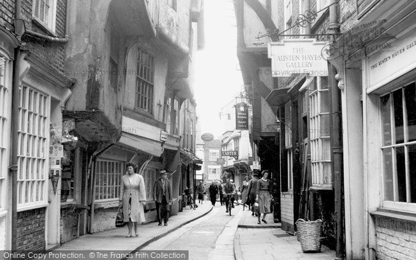 Photo of York, the Shambles c1962, ref. Y12062