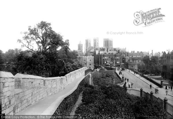 Photo of York, The View From The City Walls 1897