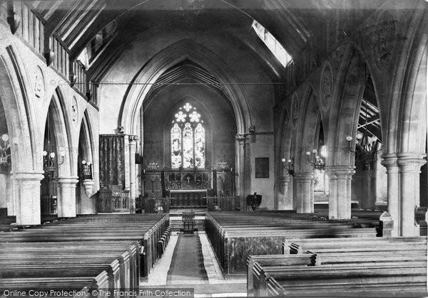 Photo of York Town, Church Interior 1895