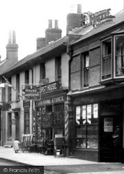York Town, Furnishings Store And Bakery In London Road 1901