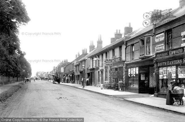 Photo of York Town, London Road 1901