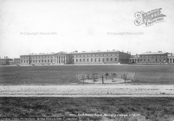 Photo of York Town, Royal Military College 1895
