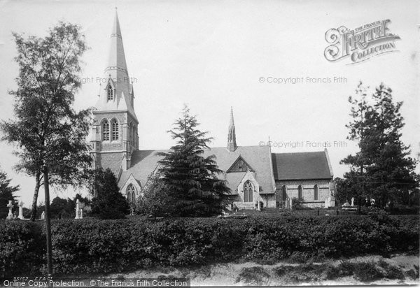 Photo of York Town, St Michael's Church 1895