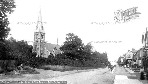 Photo of York Town, St Michael's Church 1901