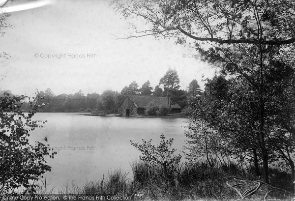 Photo of York Town, The Lake Boathouse 1895