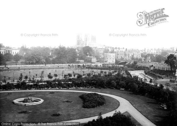 Photo of York, View From Station Hotel c.1885