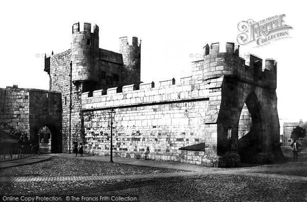 Photo of York, Walmgate Bar c.1885