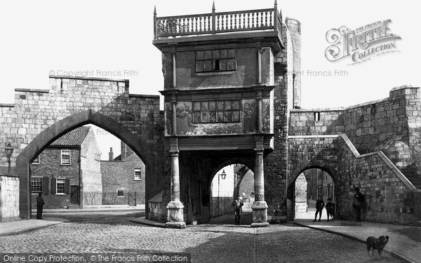 Photo of York, Walmgate Bar c.1885