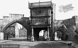 York, Walmgate Bar c.1885