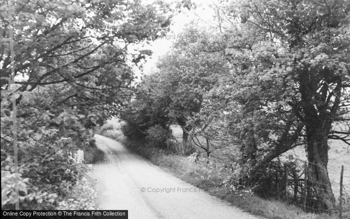 Photo of Yorkletts, Fox's Cross Lane c.1960