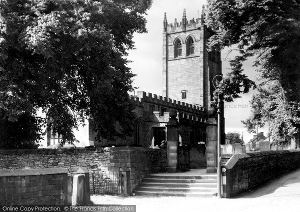 Photo of Youlgreave, All Saints Church c.1955