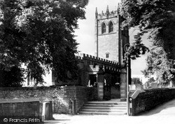 Youlgreave, All Saints Church c.1955