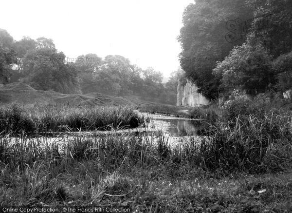 Photo of Youlgreave, River Bradford c.1960