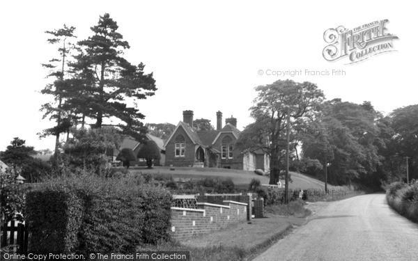 Photo of Yoxall, Cottage Hospital c.1955
